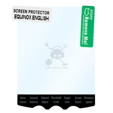 Protection écran Minelab – Equinox